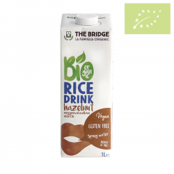 Bebida de Arroz con Avellana 1l The Bridge Ecológico