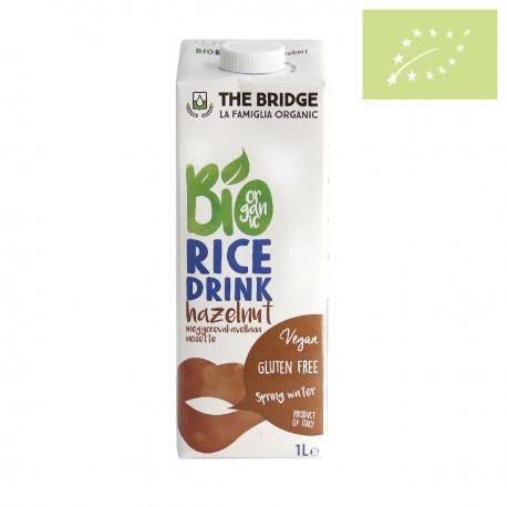 Bebida de Arroz con Avellana 1l The Bridge Ecológico