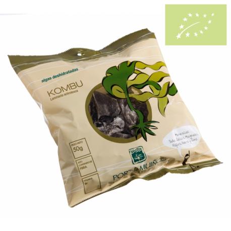 Alga Kombu (deshidratadas) 50 gr ecológico