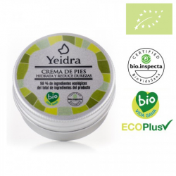 Crema de pies 30 ml Yeidra Ecológica