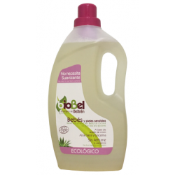 Jabon de ropa líquido bebes piel sensible 1.5l