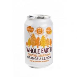 Refresco de naranja y limón s/a 330 ml ecológico