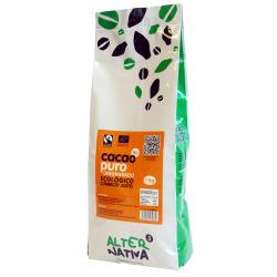 Cacao puro desgrasado 1kg Ecológico
