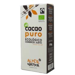 Cacao puro desgrasado 150g Ecológico