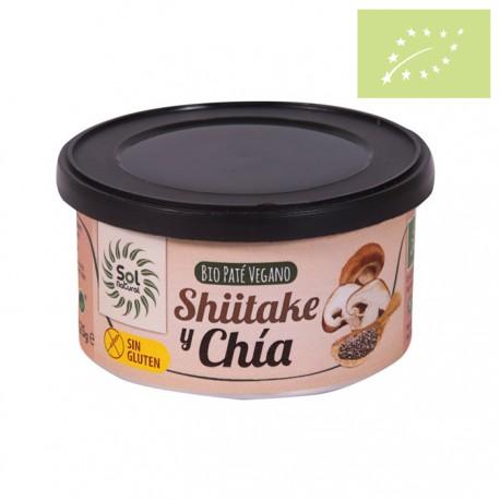 Paté de shiitake y chía 125g Ecológico