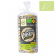 Tortas de arroz negro y cúrcuma Ecológicas