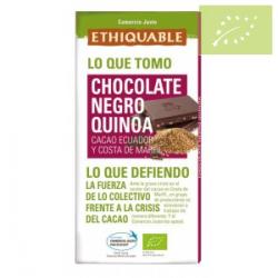 Chocolate negro con quinoa Ecológico