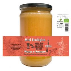 Miel de flores y romero 800g Ecológico