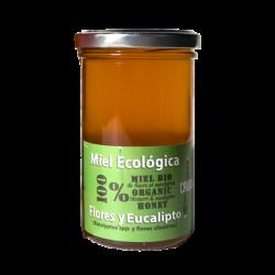 Miel de flores y eucalipto 800g Ecológico