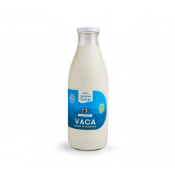 Leche de vaca pasteurizada Entera 1l ecológica