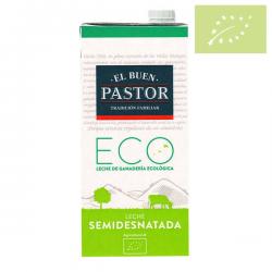 Leche Buen Pastor 1l SEMIDESNATADA Ecológica
