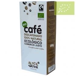 Café descafeinado molido Alternativa 3 250g Ecológico