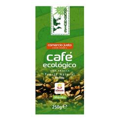 Café ORGANIC Arábica Molido Ecológico