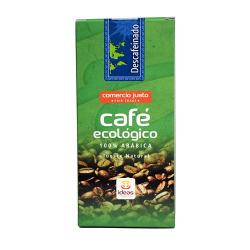 Café Descafeinado ORGANIC Arábica Molido Ecológico