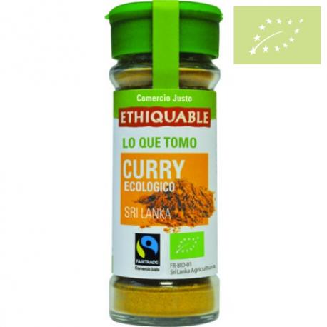 Curry en polvo 40g Ecológica
