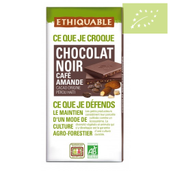 Chocolate negro con almendras Ecológico