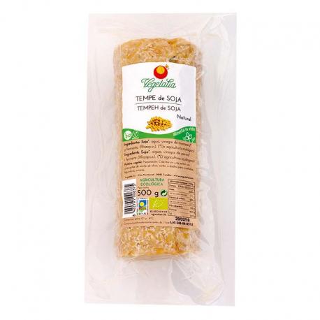Tempe de soja fresco barra 500g Ecológico