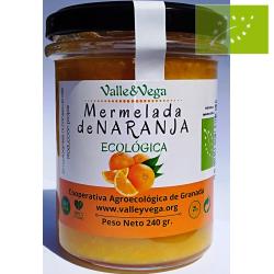 Mermelada de Naranja ecológica Valle y Vega
