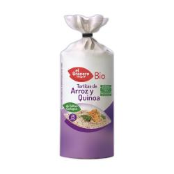 Tortitas de arroz y quinoa ecológicas