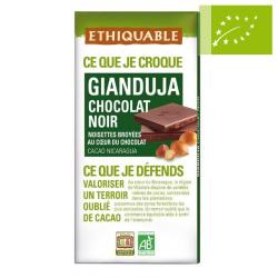 Chocolate negro Gianduja Ecológico