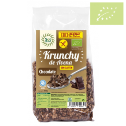 krunchy avena con chocolate 350g Ecológico