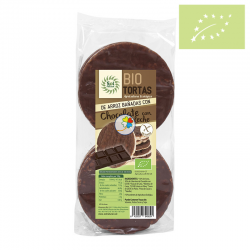 Tortitas de arroz chocolate con leche 100 gr Ecológicas