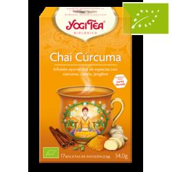Yogi tea chai curcuma Ecológico