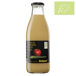 Zumo de manzana con aloe 1 l. Ecológico