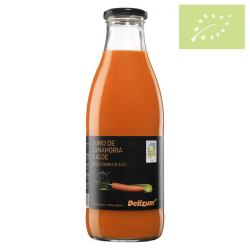 Zumo de zanahoria con aloe 1 l. Ecológico