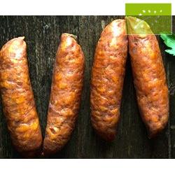 Chorizo Barbacoa de Cerdo. Ecológico