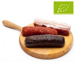 Preparado de carne para legumbres. Ecológico