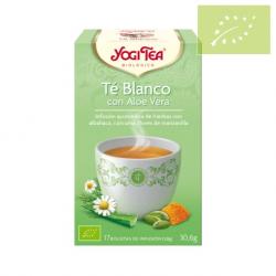 Yogi tea Blanco con Aloe Vera Ecológico