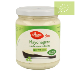 Mayonesa sin huevo ni leche 245g Ecológico