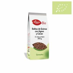 Bolitas de Quinoa con Ágave y Cacao Ecológicas