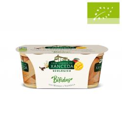 Yogur Bífidus con mango y vainilla 2x125g ecológico