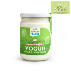Yogur natural de cabra DESNATADO 420 ml ecológico