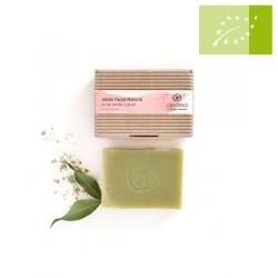 Jabón Facial arcilla verde y laurel 135g Ecológico