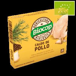 Cubitos caldo pollo 6x11 Ecológico