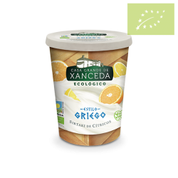 Yogur griego Sirtaki citricos 400gr ecológico