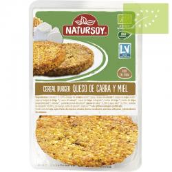 Vegano-Hamburguesa de queso de cabra y miel 2 ud ecológica