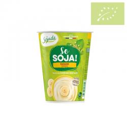 Yogur de soja con plátano 400 gr Ecológico