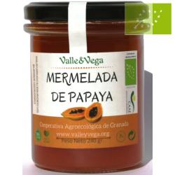 Mermelada de Papaya Ecológica Valle y Vega