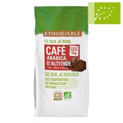 Café Premium Arábica Congo GRANO 1kg Ecológico