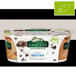 Yogur griego stracciatella Pack 2 x 125g ecológico