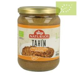 Tahini sésamo tostado con sal 500 gr Ecológico