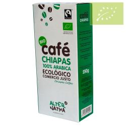 Café Chiapas Arábiga molido 250g Ecológico